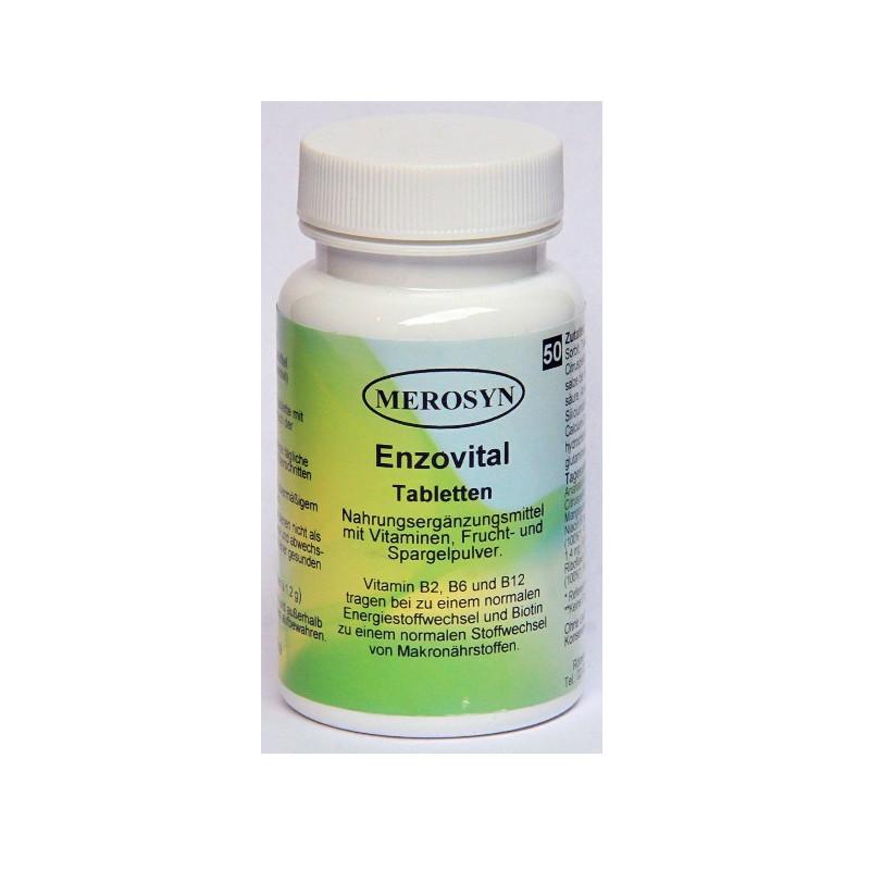 Merosyn Enzymvital 50tabs