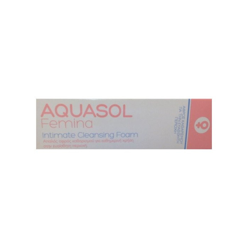 Aquasol Femina Intimate Cleansing Foam 40ml