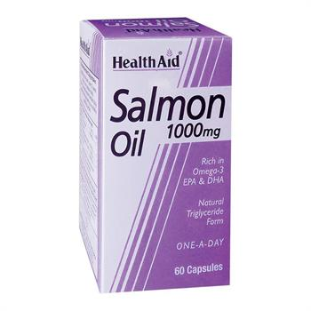 Health Aid Salmon Oil 1000mg 60caps