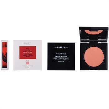 Korres Wild Rose Brightening Vibrant Colour Blush No.18 Peach 5.5gr