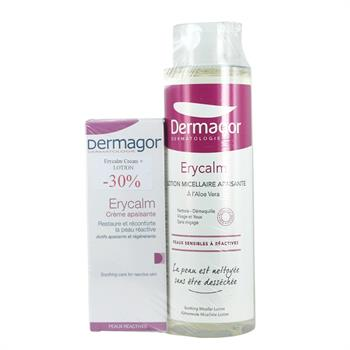 Inpa Dermagor Erycalm Creme 40ml με sticker -30% & Δώρο Dermagor Erycalm Lotion Micellaire 400ml