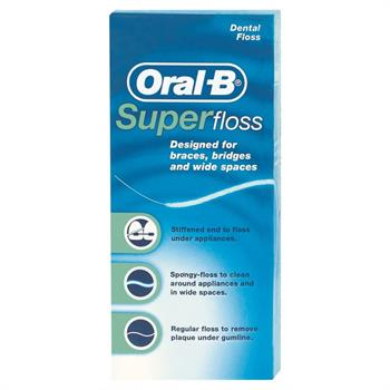 Oral-B Super Floss 50m