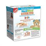 NeilMed Sinus Rinse Pediatric Ανταλλακτικοί Φακελίσκοι για 120 Χρήσεις