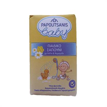 Papoutsanis Baby Soap Chamomile and Honey 100gr