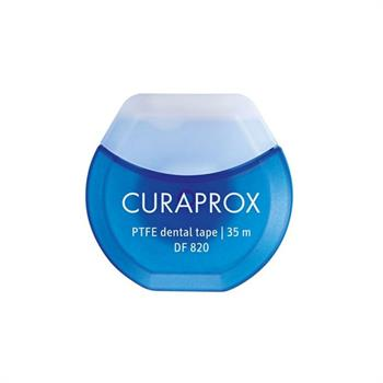 Curaprox DF820 PTFE Dental Tape Οδοντική Ταινία 35m