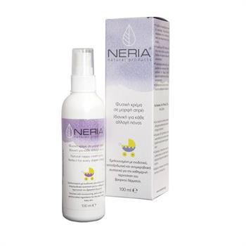 Neria Natural Products Φυσική Κρέμα σε Μορφή Σπρέι για Κάθε Αλλαγή Πάνας 100ml