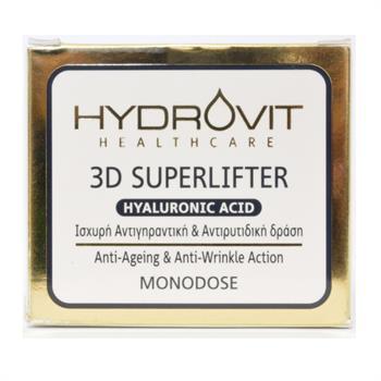 Hydrovit 3D Superlifter Hyaluronic Acid Αντιγηραντικός Ορός 60 Μονοδόσεις