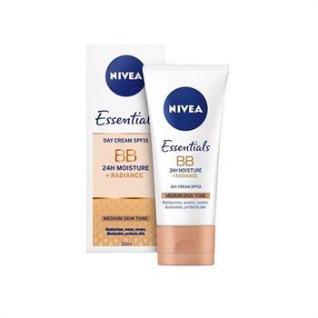 Nivea Essentials BB Cream SPF15 Κρέμα Προσώπου Μεσαίας Απόχρωσης 50ml