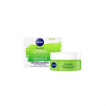 Nivea Nivea Essential Urban Skin Defense Κρέμα Ημέρας 50ml