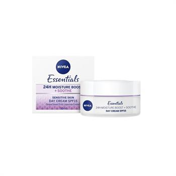 Nivea Essentials 24H Moisture Boost SPF15 Cream 50ml