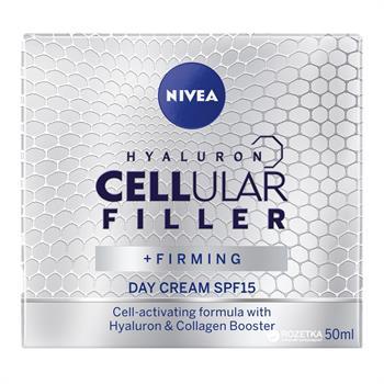 Nivea Face Hyaluron Cellular Filler Day SPF15 50ml
