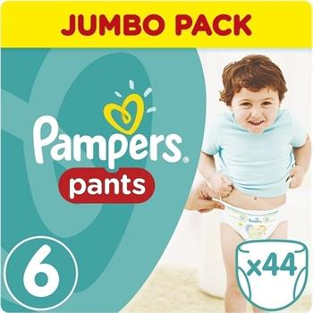 Pampers Jumbo Pack Pants No6 (15+kg) 44 Πάνες Βρακάκια