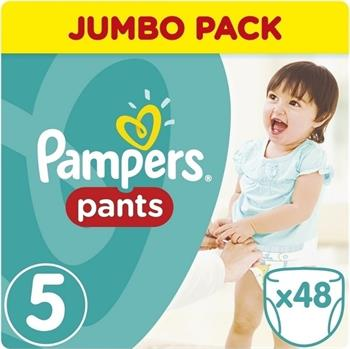 Pampers Jumbo Pack Pants No5 (11-18kg) 48 Πάνες Βρακάκια
