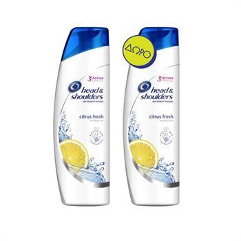 Head & Shoulders Citrus Fresh Oily Hair 2X360ml