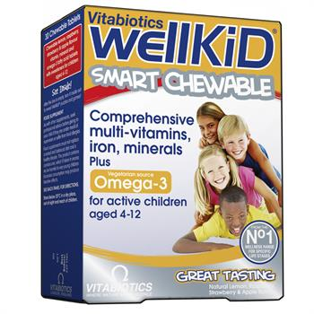Vitabiotics Wellkid 30 μασώμενες ταμπλέτες