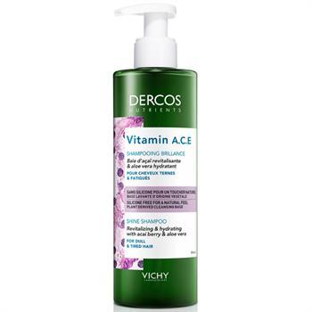 Dercos Nutrients Vitamin A.C.E Shampoo 250ml