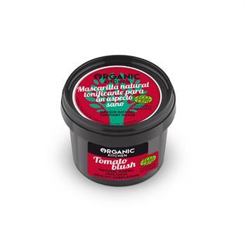 Natura Siberica Organic Kitchen Tomato blush Φυσική τονωτική μάσκα προσώπου για υγιή επιδερμίδα 100ml