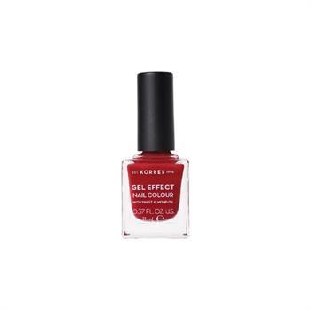 Korres Gel Effect Nail Colour Celebration Red No 56 11ml