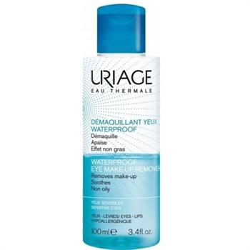 Uriage eau Thermale Waterproof Eye Make-up Remover 100ml