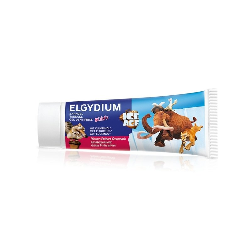 Elgydium Kids Toothpaste Ice Age Φράουλα 50ml
