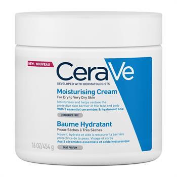 CeraVe Moisturising Cream for Dry to Very Dry Skin 454gr