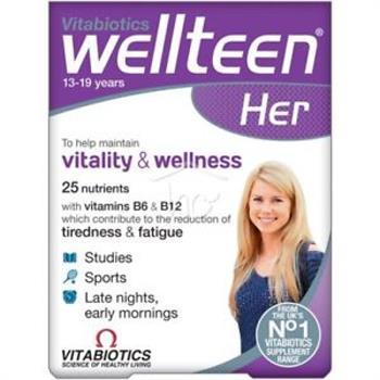 Vitabiotics Wellteen Her 30tabs
