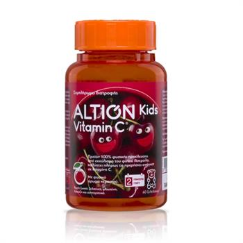 Altion Kids Vitaminc C 60 Ζελεδάκια με Γεύση Κεράσι