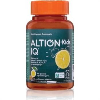 Altion Kids IQ 60 Ζελεδάκια με Γεύση Λεμόνι
