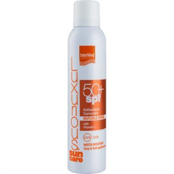 Luxurious Suncare Antioxidant Sunscreen Invisible Spray Water Resistant SPF50+ 200ml