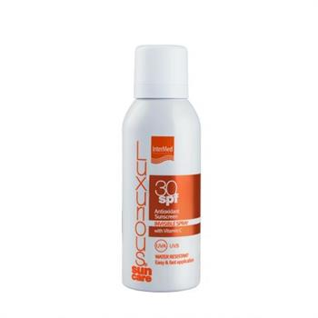 Luxurious Suncare Antioxidant Sunscreen Invisible Spray Water Resistant SPF30 100ml