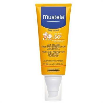 Mustela Very High Protection Sun Lotion SPF50+ 200ml