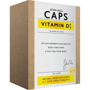 John Noa Caps Vitamin D3 2000IU 30caps