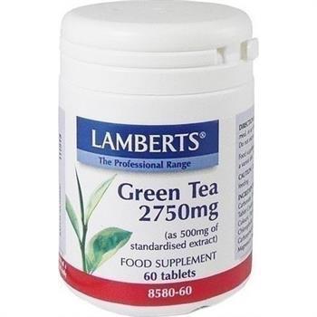 Lamberts Green Tea 2750mg 60tabs