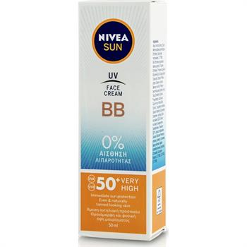 Nivea Sun UV Cream BB SPF50+ 50ml