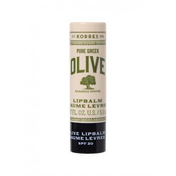 Korres Pure Greek Olive Lip Balm SPF20 5ml