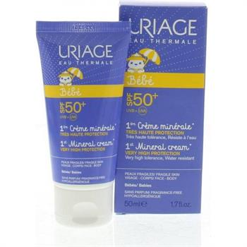 Uriage Baby 1st Mineral Cream SPF50+ 50ml