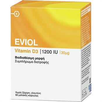 Eviol Vitamin D3 1200iu 30mcg 60caps