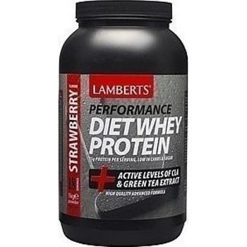 Lamberts Diet Whey Protein 1000gr Φράουλα