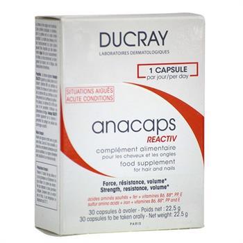 Ducray Anacaps Reactiv 30caps