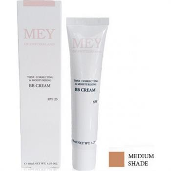 Mey BB Cream Tone Correcting & Moisturising Medium Shade SPF25 40ml