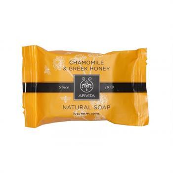 Apivita Natural Soap με Χαμομήλι και Μέλι 30gr