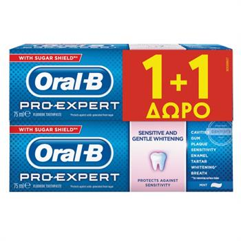 Oral-B Pro Expert Sensitive & Whitening 2X75ml
