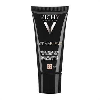 Vichy Dermablend Fluid Corrective Foundation No30 Beige 30ml