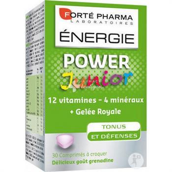Forte Pharma Energy Power Junior 30 μασώμενες ταμπλέτες