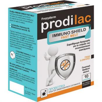 Frezyderm Prodilac Immuno Shield Fast Melt 10 φακελάκια