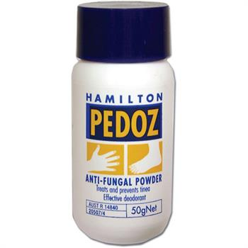 Hamilton Pedoz Anti-Fungal Foot Powder 50gr