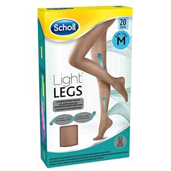 Scholl Light Legs Καλσόν Συμπίεσης 20Den Medium Beige