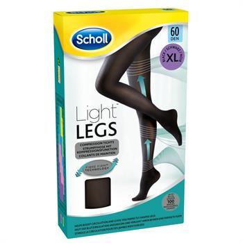 Scholl Light Legs Καλσόν Συμπίεσης 60Den XLarge Μαύρο