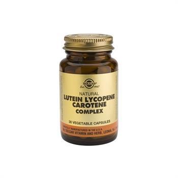 Solgar Lutein Lycopene Carotene Complex 30 vegicaps