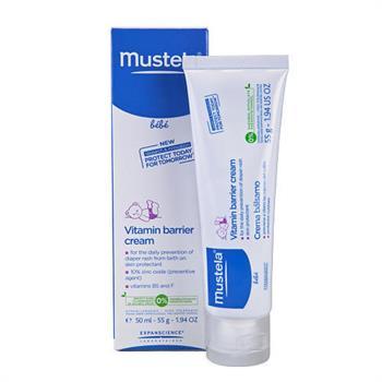 Mustela Vitamin Creme Pour Le Change 1 2 3 50ml